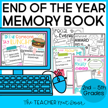 End of the Year Memory Book: Tales of a 5th Grader