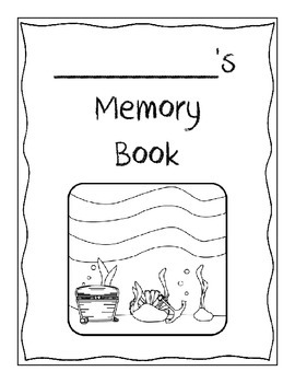 Memory Book - Under the Sea Ocean Theme! - End of the Year