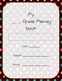 Memory Book - Yearbook