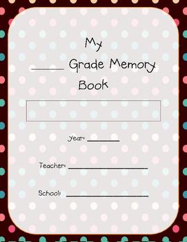Memory Book - Yearbook