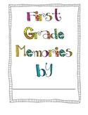 Memory Book- first grade