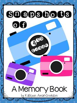 Memory Book for 4th Grade