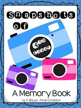 Memory Book for 4th Grade