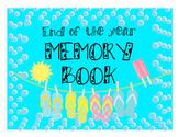 Memory Book for Elementary Students - last school day fun!