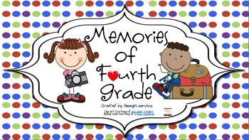 Memory Book for Fourth Grade