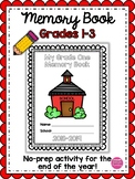 End of Year Memory Book for Grades 1, 2, 3 (Ontario, Canada)
