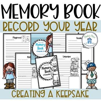 Memory Book for K-2