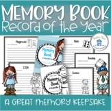 Memory Book End Of Year Record