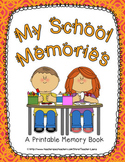 Memory Book for Kindergarten or First Grade