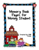 Memory Book for Moving Student