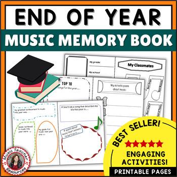Music Class Memory Book