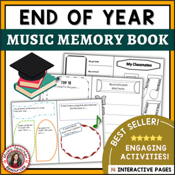 Music Activities: End of the Year Music Class Memory Book