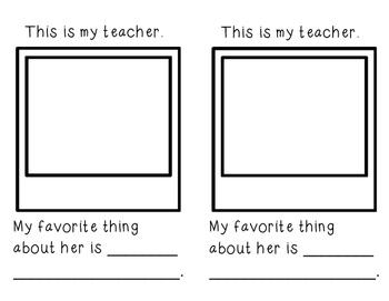 Memory Book for Prek, Kindergarten, First Grade