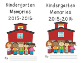 Memory Book for Prek, Kindergarten, First Grade