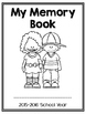 Memory Book for Primary Grades