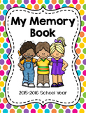 Memory Book for Primary Grades
