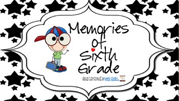 Memory Book for Sixth Grade