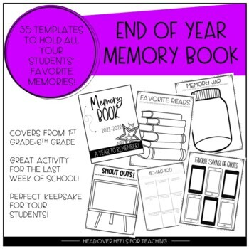 photo regarding Printable Autograph Book for Students named Memory E-book for Pupils Finish of Calendar year via Joanne Miller TpT
