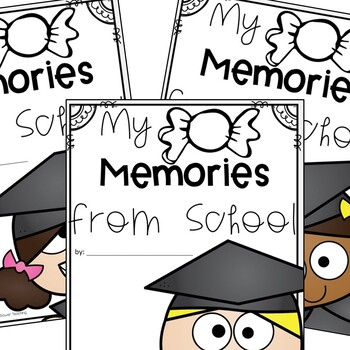 Memory Book for the End of the School Year (with certificates and activities)