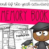 Memory Book for the End of the School Year (with certifica