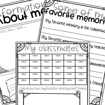 #TEACHERSREMEMBER Memory Book for the End of the School Year