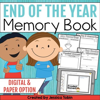 End of the Year Activities: End of the Year Memory Book