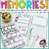End of Year Memory Book for the Primary Classroom   English & Spanish Included!