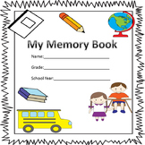Memory Book for the School Year