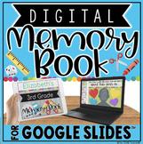 Digital Memory Book in Google Slides