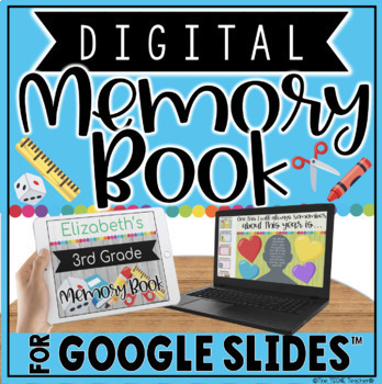 Digital Memory Book in Google Slides