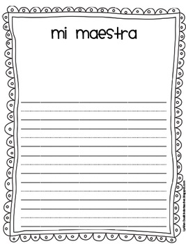 Memory Book in Spanish