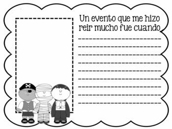 Memory Book in Spanish