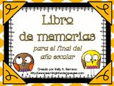 Memory Book in Spanish / Libro de memorias para el final d