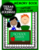 Memory Book {Texas Twist Scribbles}