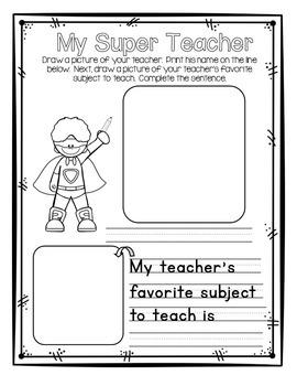 Memory Book with Super Hero Theme