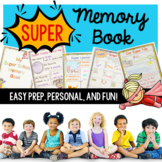 Memory Book with Super Hero Theme