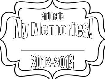 Memory Booklet (See Ya 2nd Grade!)