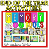 End of the Year Memory Books Bundle