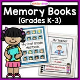 End of the Year Memory Books (Kindergarten, First, Second,
