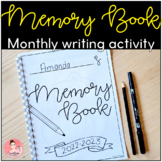 Memory Books - Early Writers Monthly Writing Activity for Kindergarten