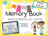 Memory Book {Kindergarten Edition}