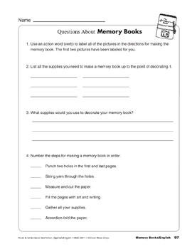 Memory Books/Libros de recuerdos