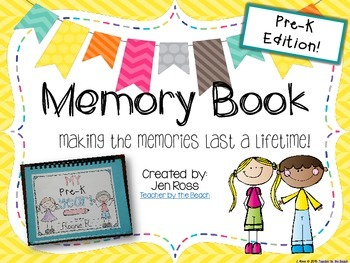 Memory Book {PreK Edition}