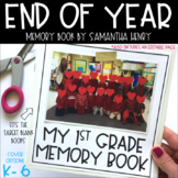 Memory Book for End of the Year (K-6)