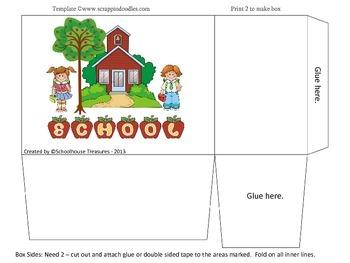 Memory Box: Top Ten of 1st Grade!