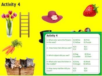 Memory Building Program: Short Term to Long Term Memory Skills