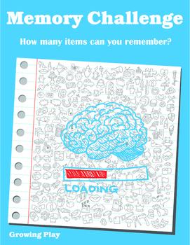 Memory Challenge - Visual Memory Executive Functioning Skills