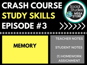 Memory: Crash Course Study Skills  Ep 3