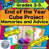 End of Year,  Memories, Intermediate Cube Project, Advice for  Next Year