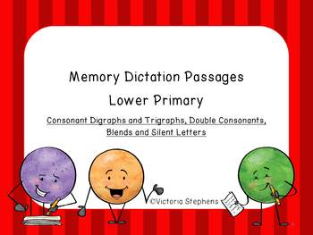 Memory Dictation Lower Primary BUNDLE